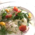 料理メニュー写真旬の鮮魚のカルパッチョ small/regular