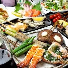 鉄板串焼Dining 串ばる 本店の特集写真