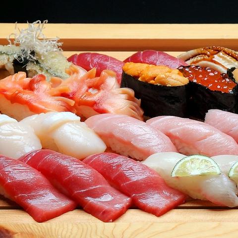 築地の市場で美味しい魚に出会う。心意気をネタに込めて!