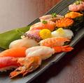 料理メニュー写真寿司盛り 2人前(12貫)