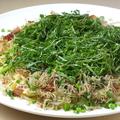 料理メニュー写真しらすと万能葱のスパゲッティーアーリオオーリオ 大葉のせ