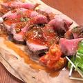料理メニュー写真自家製ローストビーフ