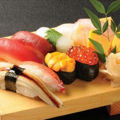 料理メニュー写真特上寿司盛り「海原」