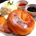料理メニュー写真ベーグルのフレンチトースト