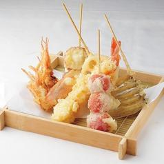 料理メニュー写真大海老入り天ぷら盛合せ