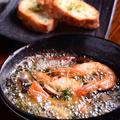 料理メニュー写真天使の海老のアヒージョ