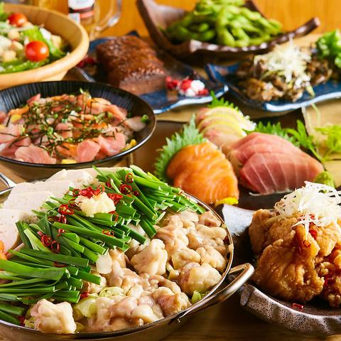 食べ飲み放題と和食ダイニング MANPUKUバル 新潟店