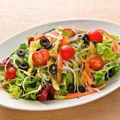 いろいろ野菜の菜園風サラダ