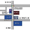 当店の地図です