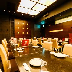 大切な方とのお食事やご接待などには最高のお席でございます。プライベートな空間でゆっくりとお食事を楽しみたい方におすすめのお席です。接待や会食などの大切なシーンにも◎当店自慢、絶品お料理の数々を心ゆくまでご堪能くださいませ。
