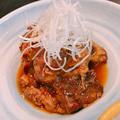 料理メニュー写真豚バラなんこつのトロトロ煮