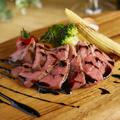 料理メニュー写真◆牛タリアータ ~バルサミコソース~
