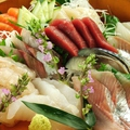 料理メニュー写真北海道の目利き職人が厳選した新鮮お刺身5点盛り
