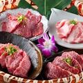 料理メニュー写真新羅肉盛りセット