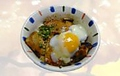 料理メニュー写真温玉豚丼