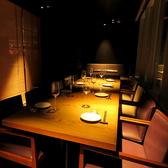 和モダンな店内でゆったりとお食事を。