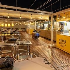 横浜高島屋ビアガーデン星空GRILLの特集写真