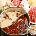 様々な種類の鍋のご用意があります。