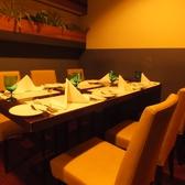 接待・食事会に~人数・シーンに応じてお席をご用意いたします。本格フレンチで大切なゲストをおもてなし。