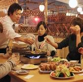 屋上ビアガーデン 牡蠣小屋 焼肉 ユニオンの雰囲気3