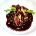 料理メニュー写真蝦夷鹿のグリル赤ワインソース
