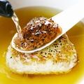 料理メニュー写真炙り味噌の焼きおにぎり茶漬け こだわりの出汁で