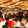 最大100名様入れる猿カフェ!岐阜駅から徒歩圏内で近隣にはコインパーキングも充実。一体感あるフロアで思い出に残る会ができますよ♪
