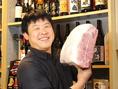 にく楽家 鐵牛(てつぎゅう)でご提供している食材は、毎日肉ソムリエの店主が厳選したものをご提供。日によっては珍しい部位が食べられたりする。毎日の仕入れによって異なる為、にく楽家 鐵牛(てつぎゅう)の日替わりメニューは要チェック♪!!