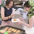 【自分で焼けるフレンチトースト】大人気のフレンチトースト♪自分で焼くことができる楽しさも★
