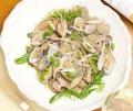 料理メニュー写真アサリの塩チャプチェ