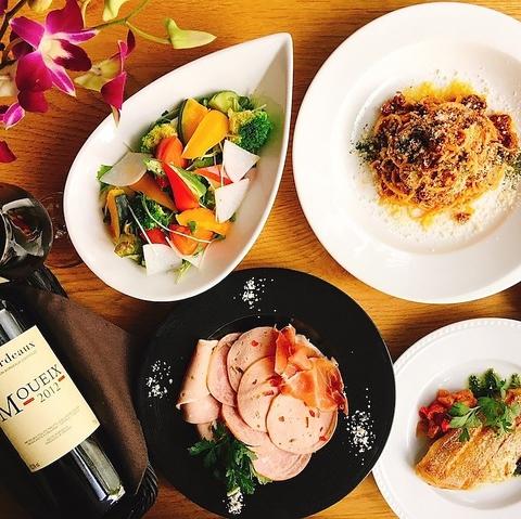 3月10日OPEN!隠れ家2階の街角欧州レストラン。多彩なランチと厳選ワインなど…