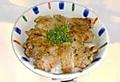 料理メニュー写真塩豚丼