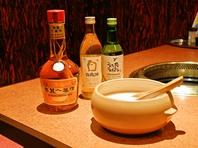 韓国のおいしいお酒各種!