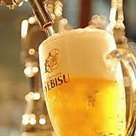 今月は生ビールが\390!より!