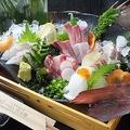 料理メニュー写真熊本県「天草牛深港」天然活魚5点盛合わせ(1人前)※2人前から承ります。