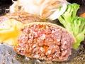 料理メニュー写真霜降りチーズハンバーグ(180g)