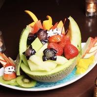 【フォトジェニック】キングジョー新名物☆フルーツ盛り