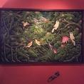 5F Splash Garden 店内にはバリ島の絵画。