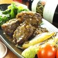 料理メニュー写真牛肉のわさびソース焼き野菜添え