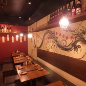 綺麗な落ち着いた雰囲気の店内で本場九州博多料理を堪能♪