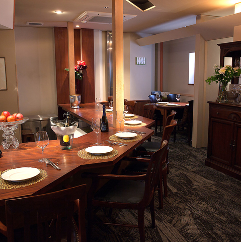 イタリアの食文化をお料理・店内を通じてお伝えします。京都町家本格イタリアン♪