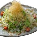 料理メニュー写真タコのカルパッチョサラダ