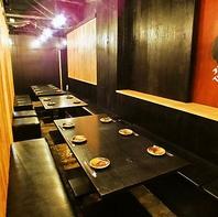 """■""""多種多様"""" テーブル席,個室,ワンフロア貸切"""