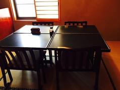 新しくテーブルタイプの個室ができました♪