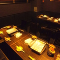 ガラス面で囲まれたテーブル個室でゆっくりのんびり♪こちらのお席は14~22名様までご利用頂けます!お客様だけのプライベート空間でご宴会をごゆっくりとお楽しみ下さいませ!当店の団体様用お席の中で特に人気の高いお席となっております(^^)ご予約はお早めに!お得なご宴会コースも多数ご用意致しております!