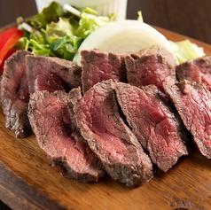 ブラックアンガス牛 イチボのステーキ