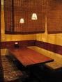 【1席ずつ空間を空けております】テーブル席は4名様程度のご利用がお勧めです。しっかり仕切りがございますので、周りを気にせずにお楽しみいただけます。