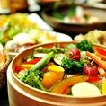 新鮮な野菜を厳選!!体も心もキレイに♪