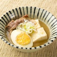 料理メニュー写真【自家製豆腐使用】名物 肉豆腐