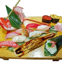 旬の鮮魚をにぎりやお造りでお召し上がり下さい!